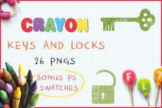 Download Crayon Keys and Locks @creativework247