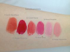 Ysl Glossy Stain 12 Corail Fauve Lip Swatches