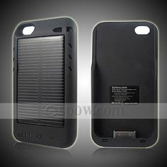 Solar iPhone Charger for iPhone 4G ESPOW