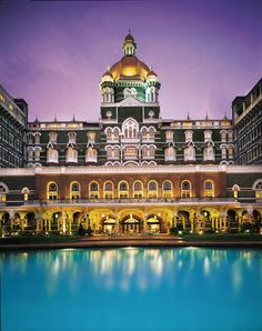 Experience true grandeur at Taj Mahal Palace, our iconic grand luxury hotel in Mumbai. Book Suites in South Mumbai with exotic views of the Arabian Sea & Gateway of India. Come, experience the legendary hospitality of Taj at the best hotel in Mumbai! Taj Mahal India, Le Taj Mahal, Bombay, Hampi, New Delhi, Hotels And Resorts, Best Hotels, Luxury Hotels, Amazing Hotels