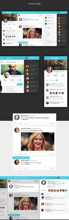Twitter Redesign Concept on Behance
