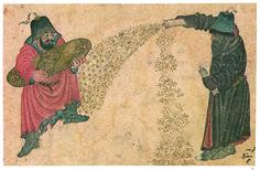 Topkapı Palace Museum Catalogue,Treasure 2153,s.65a,watercolor on paper(Siyah Qualem).