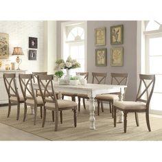 Riverside Furniture Aberdeen 9 Piece Dining Set & Reviews   Wayfair