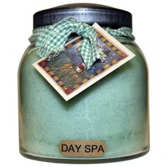 A Cheerful Giver� Day Spa Papa Jar Candle