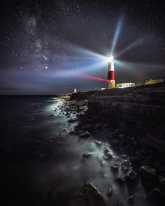 Unique and Creative Stunning Journey and Panorama Images by Dan Tucker Pretty Stunning Journey and Panorama I. House Photography, Beach Photography, Landscape Photography, Nature Photography, Lighthouse Lighting, Lighthouse Art, Nature Pictures, Cool Pictures, Beautiful Pictures