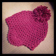 LOVE and YARN – Crochet » bembie pom hat