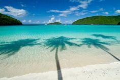 Maho Bay, St. John Virgin Islands National Park. Photo by Steve Simonsen.