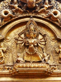 Bhaktapur's Golden Gate and the goddess Taleju