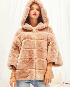 """4a92d1d9ed @feissifur on Instagram: """"Rex Rabbit Fur Jacket #feissifur"""""""
