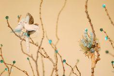 Birds in branches