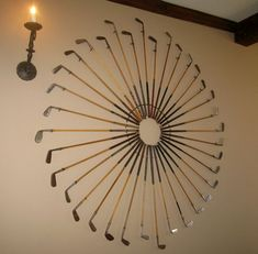 repurpose golf clubs into furniture - Google Search