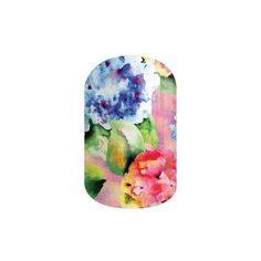 Jamberry Nail Wraps (22 NZD) ❤ liked on Polyvore featuring beauty products, nail care, nail treatments, faded bouquet, jamberry, floral, bouquet and jamberry nails