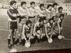 Deportes La Serena 1981.    Arriba: Torres, Cerendero, Rojas, F. Potilla, Mayol, Sánchez, Reinoso (utilero).   Abajo: Jose Pepín Olivares, Eleodoro Cornejo, Victor Espósito, Torino, Roberto Videla.