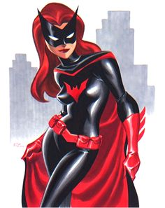 Batwoman by Bruce Timm