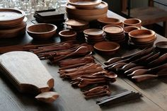 Wooden Tableware and Sundries at Manufact Jam | OEN