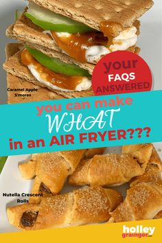 Your Air Fryer FAQs Answered! Become a pro by following these air fryer tips and recipes guaranteed to make your experience and food amazing. Cooking Hacks, Oven Cooking, Food Hacks, Cheese Sticks Recipe, Mozzarella Cheese Sticks, Nutella Crescent Rolls, Maple Mustard Salmon, Small Air Fryer, Best Air Fryers