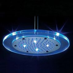 8 Inch Shower Head with Color Changing LED Light