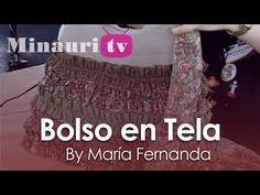 DIY - Bolso en Tela by Minauri ( How to make fabric handbag ) ( sew / purse / wallet / tote )