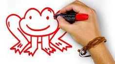Красная Лягушка, рисуем маркером, РыбаКит