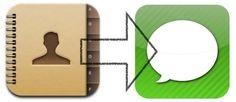 Cómo compartir contactos con el iPhone