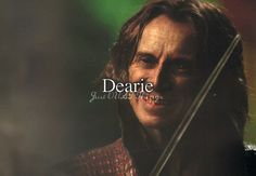 Dearie. - Just OUAT things. Has anyone else noticed that with flashback scenes this season, Rumple's voice is no longer as impishly weird as it once was? I wonder why that is happening...I liked his weird Rumple voice.