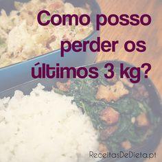 """""""Como posso perder os últimos 3kg?"""" #dieta #emagrecer"""