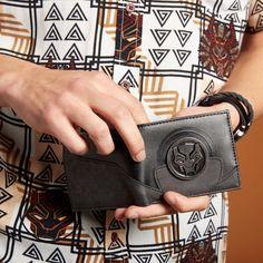 sale retailer 1c813 497e2 Marvel Black Panther Bi-Fold Wallet - BoxLunch Exclusive