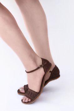 Handmade Leather Sandals - Furbelow - Zero drop & CUSTOM FIT