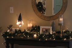 Join me on an overly honest holiday home tour of our fixer upper! It's sure to make you feel better about your holiday decor, ha!