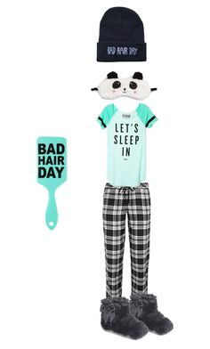 """Pj sleepover"" by styleisme ❤ liked on Polyvore"