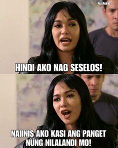 Hugot Quotes Tagalog, Tagalog Quotes Hugot Funny, Patama Quotes, Funny Qoutes, Jokes Quotes, Memes Pinoy, Memes Tagalog, Pinoy Quotes, Tagalog Love Quotes