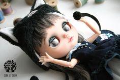 OOAK Custom Blythe Kitty Doll by Diuha by Diuha on Etsy