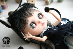 OOAK Custom Blythe Kitty Doll by Diuha by Diuha on Etsy