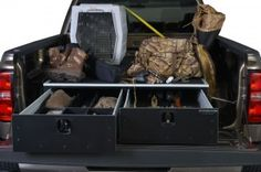Storage Drawers for Trucks with 5 ft Bed   MS5 Series Waterfowl