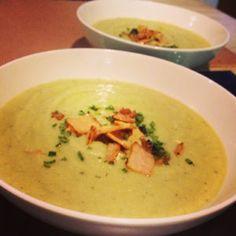 Paleo 'potato' and leek soup and top immunity builders!
