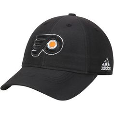 Men s adidas Black Philadelphia Flyers Centennial Slouch Adjustable Hat 44d327bbc647