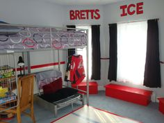 Bedroom Ideas Hockey