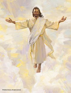 Lds Pictures, Religious Pictures, Jesus Pictures, Jesus Is Lord, Jesus Christ, Jesus Coming Back, Paintings Of Christ, Meditation Images, Heaven Art