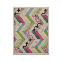 "Heidi Jennings ""Fabric Much?"" Colored Cloth KESS Naturals Canvas (Frame not Included)"
