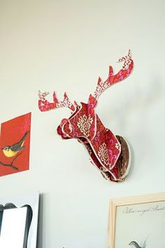DIY Antler Decor. easy peasy.