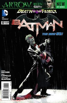 Batman #17 (DC) by Scott Snyder and Greg Capullo. Cover by Greg Capullo.