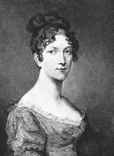 This is Napoleon's eldest sister, Elisa Bonaparte. She was Princess of Piombino and Lucca, and the Grand Duchess of Tuscany.