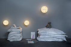 In-es.artdesign collezione Luna: la luce è materia e simbolo