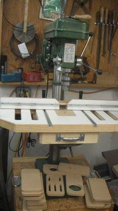 Drill Press Stand - by Mark Gipson @ LumberJocks.com ~ woodworking community