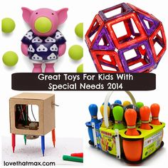 Love That Max : Holiday Gifts And Toys For Kids With Special Needs: 2014