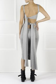 Rochie 4-3 gri My Wardrobe, Cool Outfits, Designers, Take That, Clothes, Beautiful, Dresses, Style, Fashion