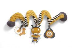 Mamas&Papas, M&P - Sklep Dystrybutora zaprasza na zakupy » Spiralka z zabawkami Pszczółka kol. Baby Play