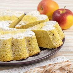 Pan di mela Bolo Cake, Torte Cake, Sweet Recipes, Cake Recipes, Dessert Recipes, Tortilla Sana, Sweet Cakes, Sweet Bread, Love Food