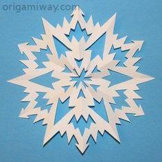 Snowflake Pattern 12