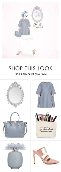 """Easy Dressing"" by never-too-late-to-dream ❤ liked on Polyvore featuring Gallery, Valentino, Terre Mère, Les Parfums De Rosine, The Mode Collective, Panacea and easypeasy"
